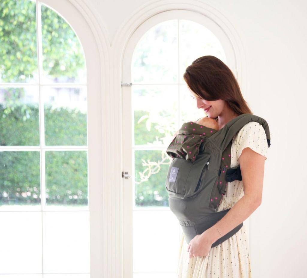 ergobaby carrier mit neugeboreneneinsatz