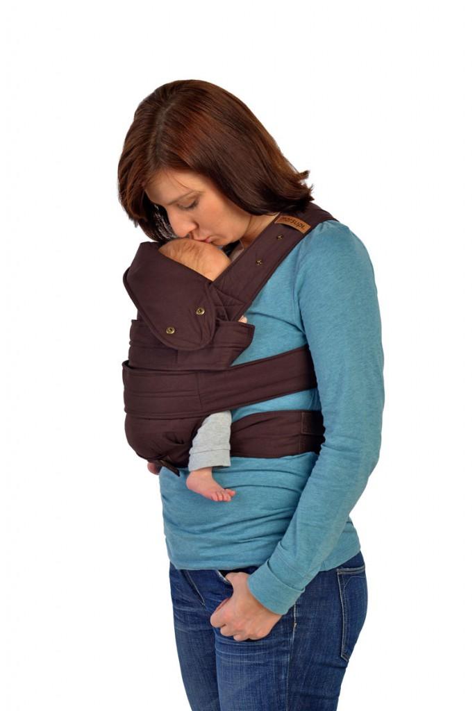 marsupi plus Bauchtrage mit kleinem Baby