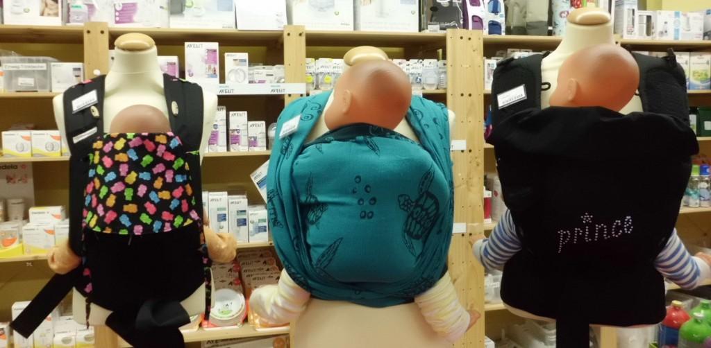 Babytrage Easy back - Tragetuch und Tragehilfe zuhause testen