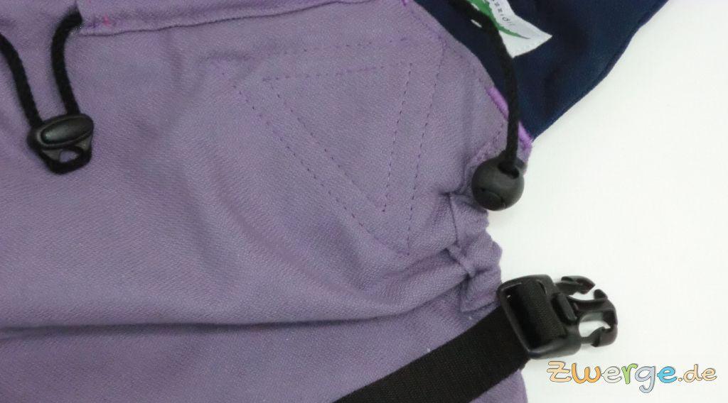 Buzzidil - Rückenteil verkürzen und verlängern