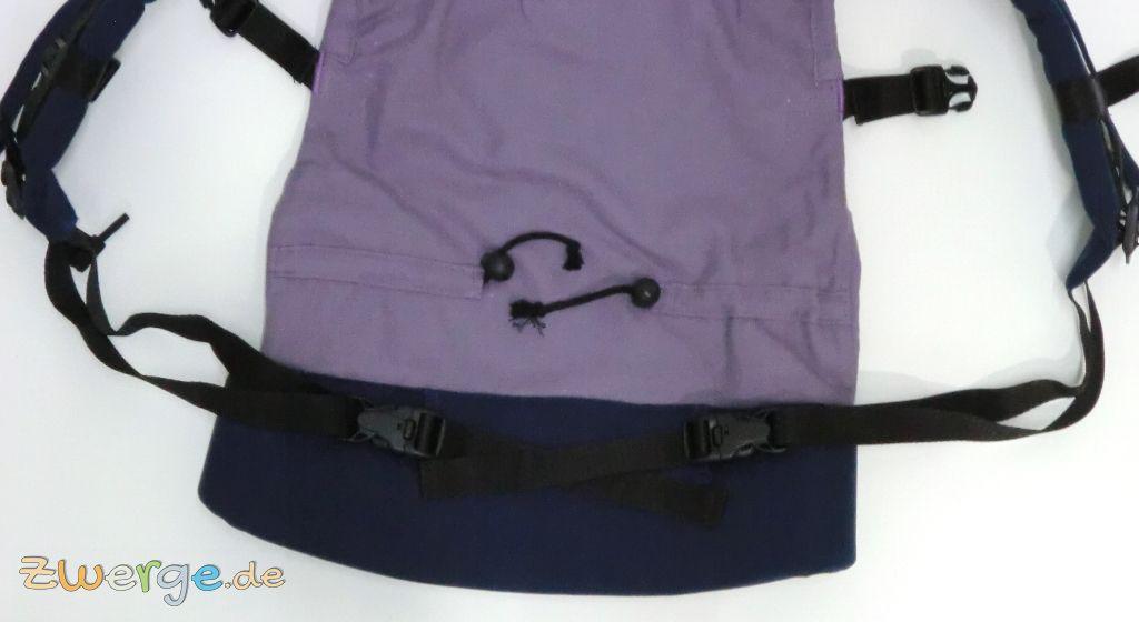 Buzzidil Schulterträger - Variante für Babys bis 6 Monate