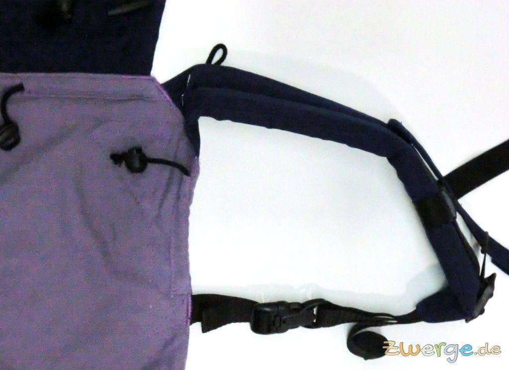 Buzzidil Schulterträger - Variante für Babys ab 6 Monate