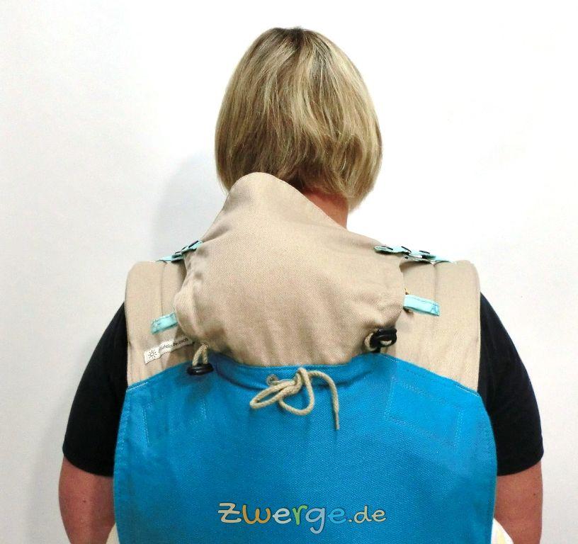 Fräulein Hübsch MeiTai - Kopfstütze bei der Rückentrage