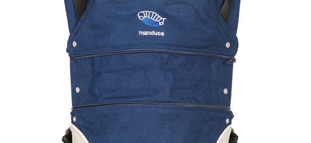 manduca babytrage mit geöffneter Rückenverlängerung