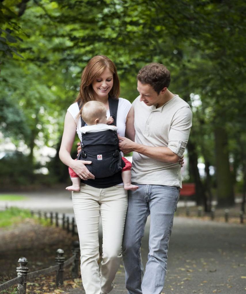 Ruckeli Babytrage - Bauchtrageweise