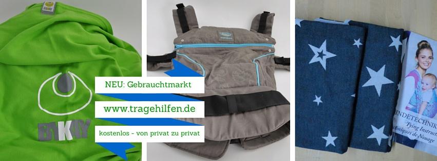 Tragehilfe und Tragetuch gebraucht kaufen und verkaufen bei tragehilfen.de