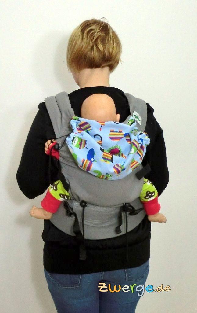 buzzidil Babytrage - Rückentrage