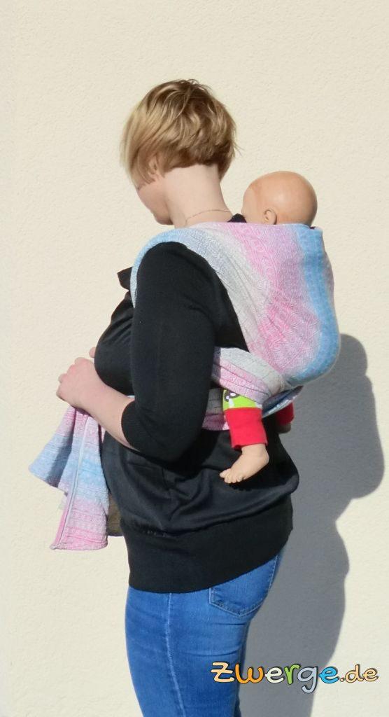 Tragetuch binden - Einfacher Rucksack