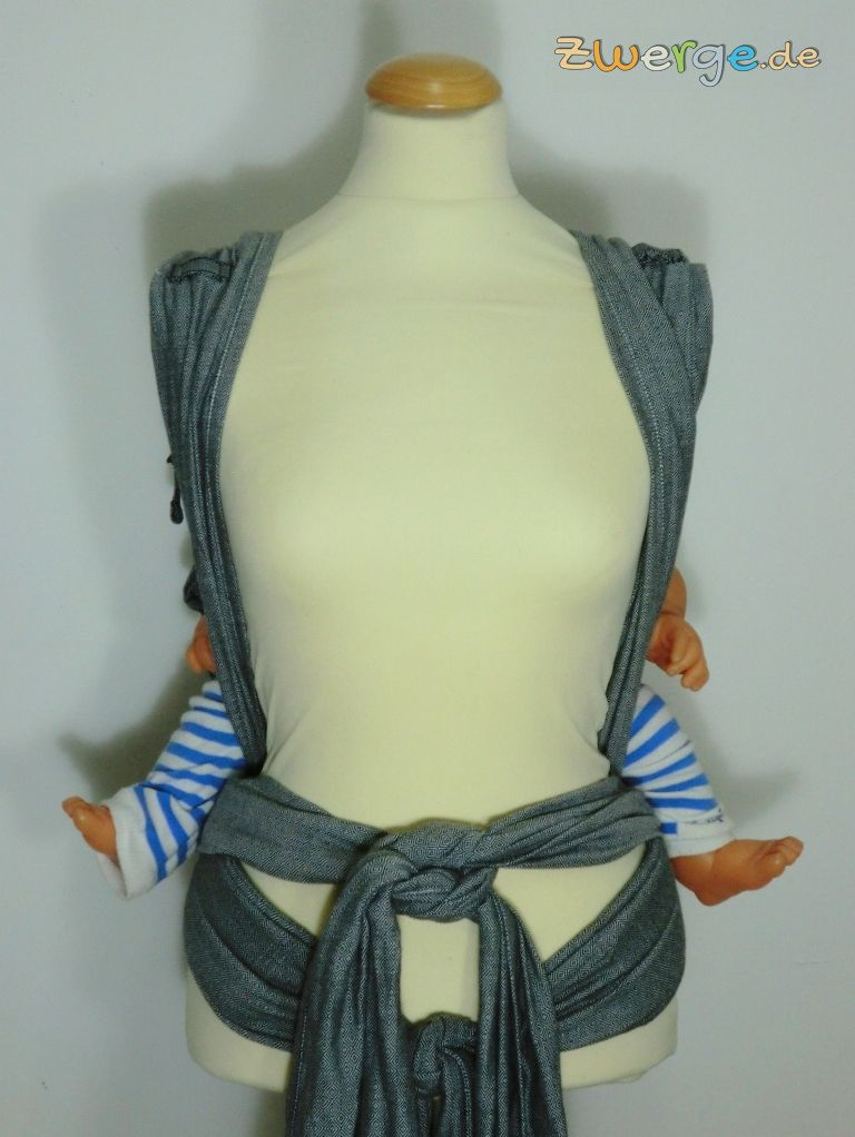 Hoppediz HopTye Conversion - auf dem Rücken tragen