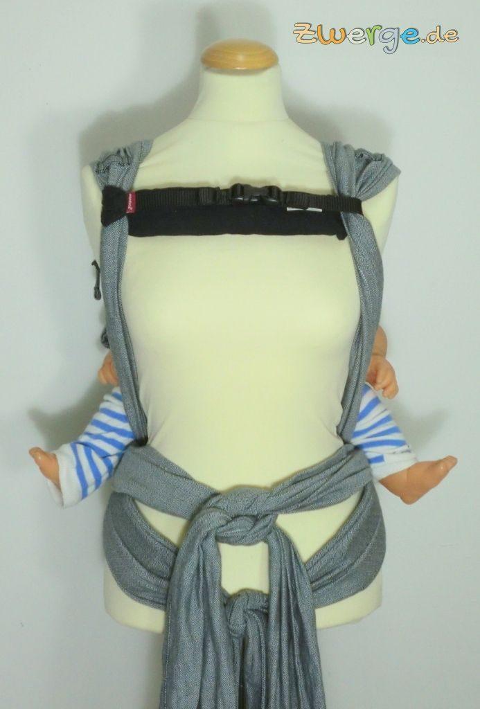 Hoppediz HopTye Conversion - Rückentrage mit size-it von manduca