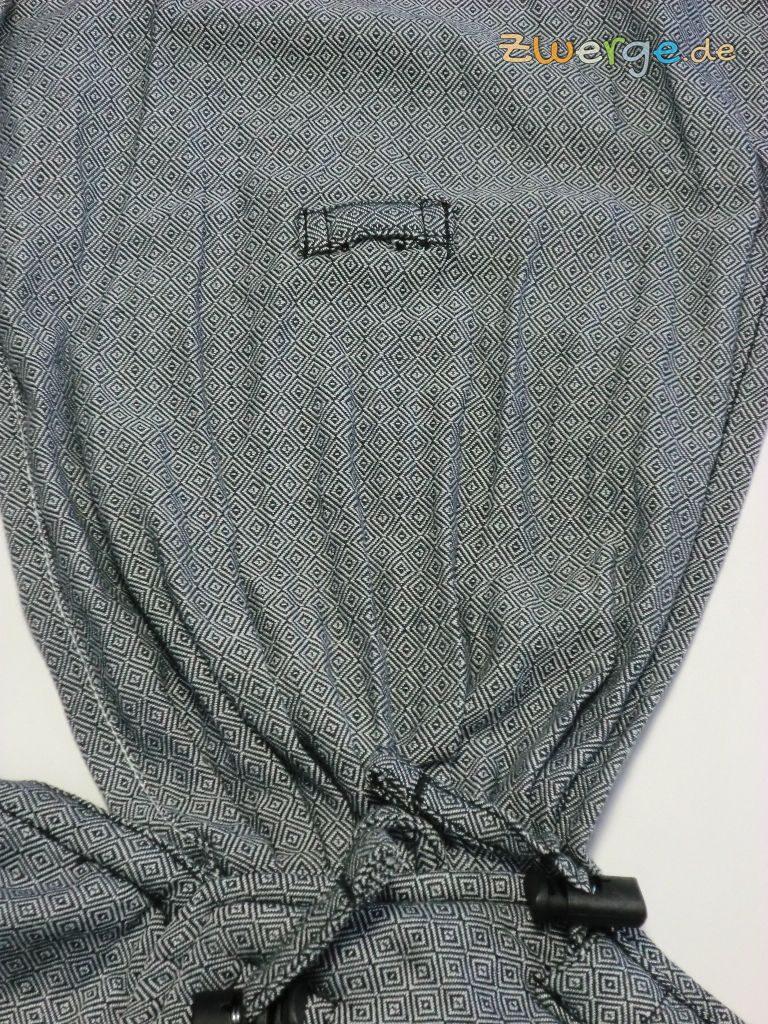 Hoppediz HopTye Conversion - Breite Schulterträger ermöglichen indiviuelle Gewichtsverteilung.