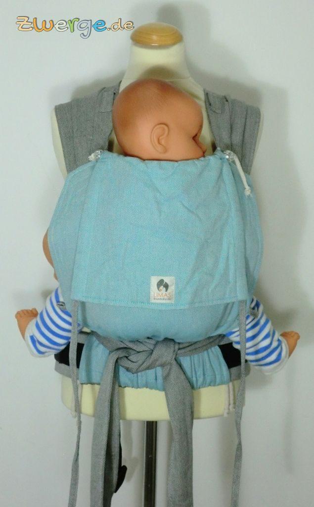 Limas Babytrage aus Bauchtrage