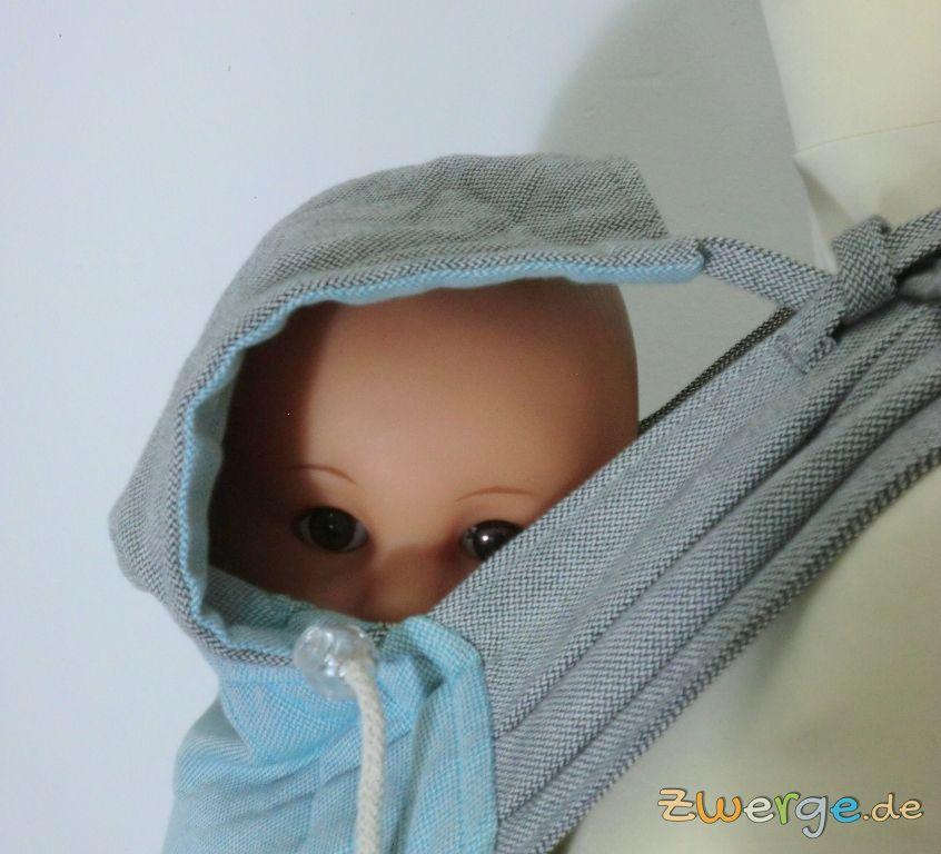 Limas Babytrage - Kopfstütze befestigen