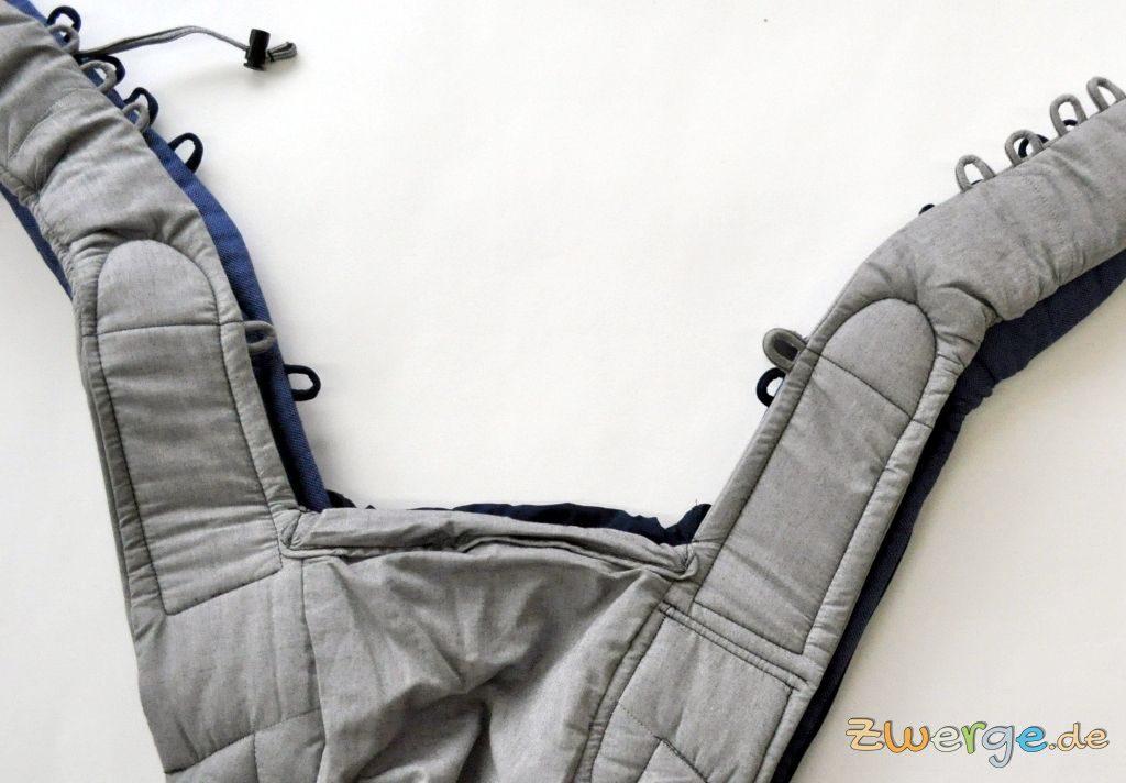 Hoppediz Bondolino slim-fit auf dem Klassik Modell. Die Schulterträger sind schmaler.