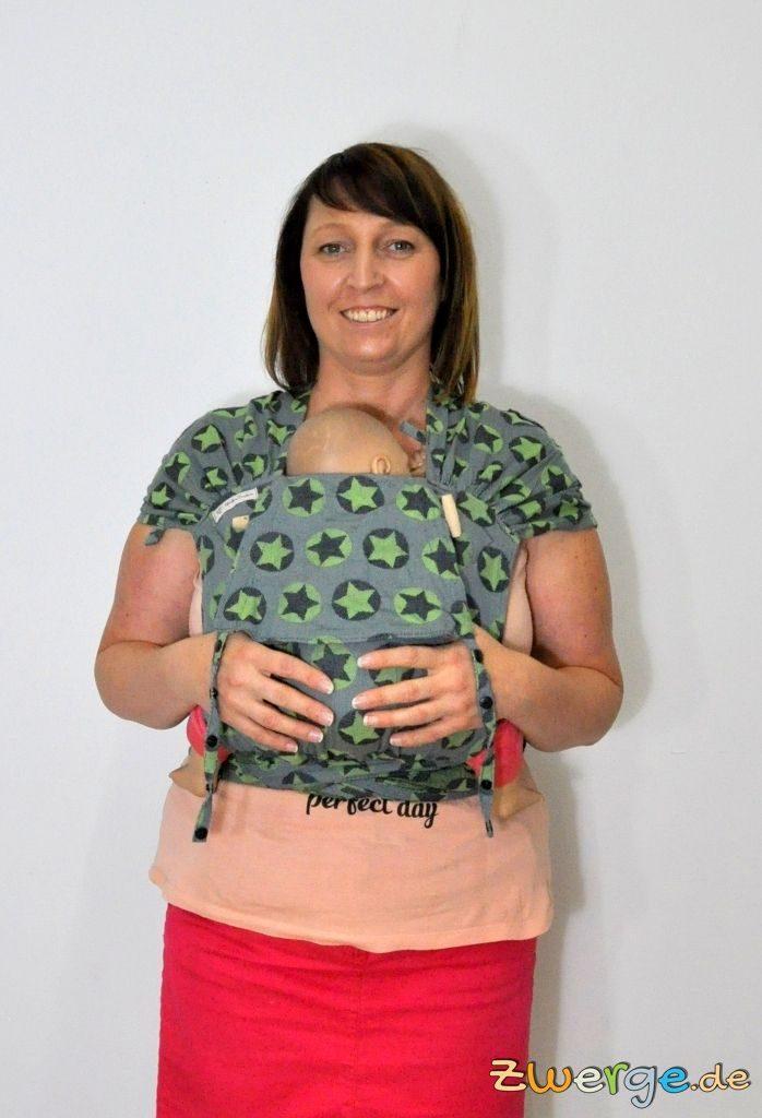 Fräulein Hübsch Wrapcon apron - mit kurzem Rückenteil