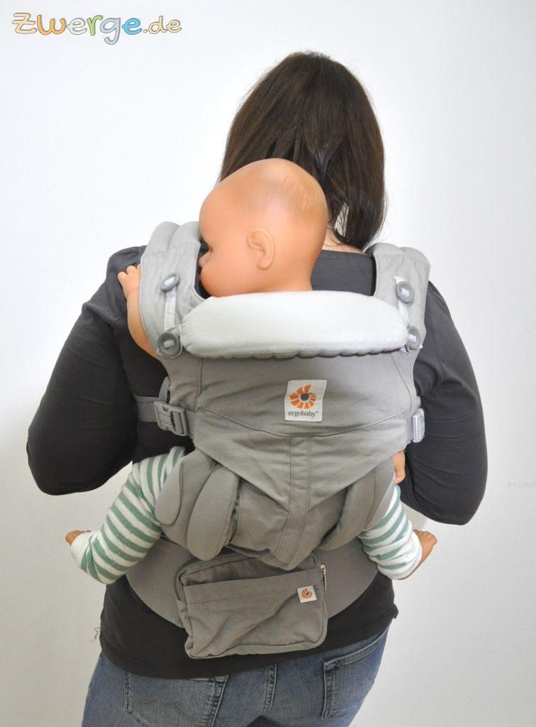 baby Omni als Rückentrage