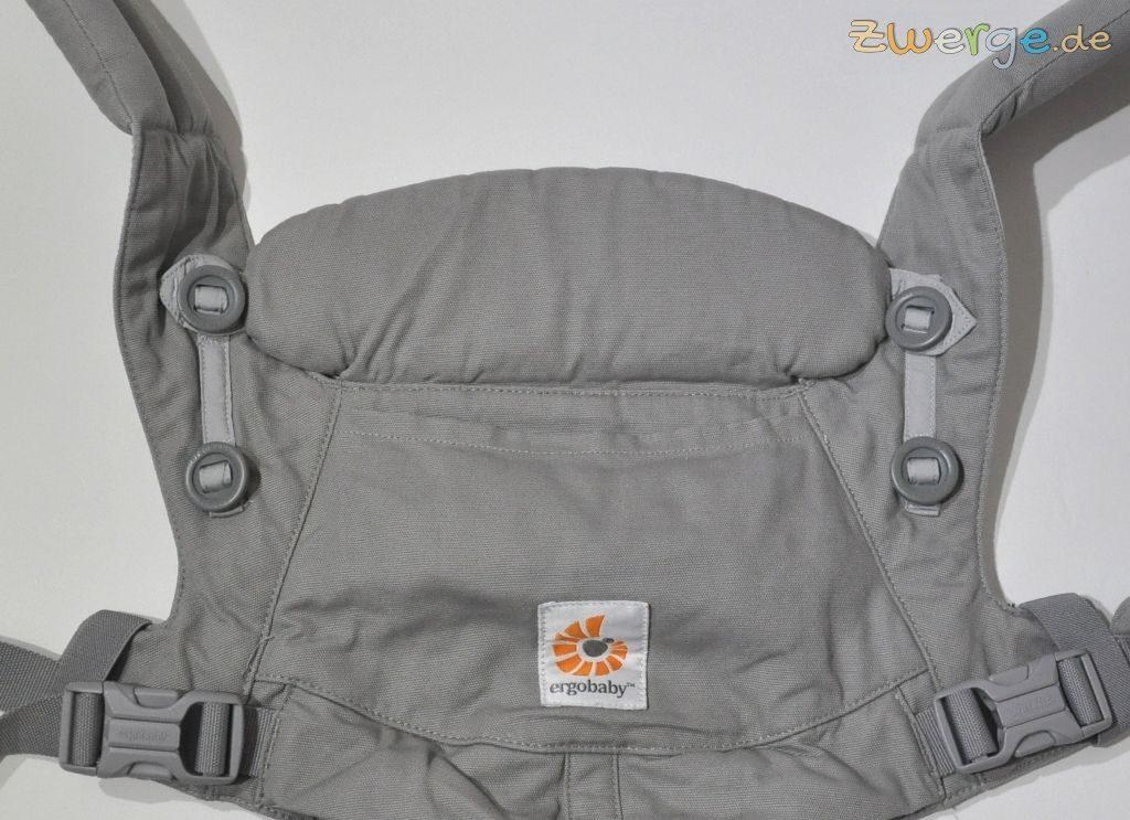 ergobaby omni - Nackenstütze als Rückenteilverlängerung