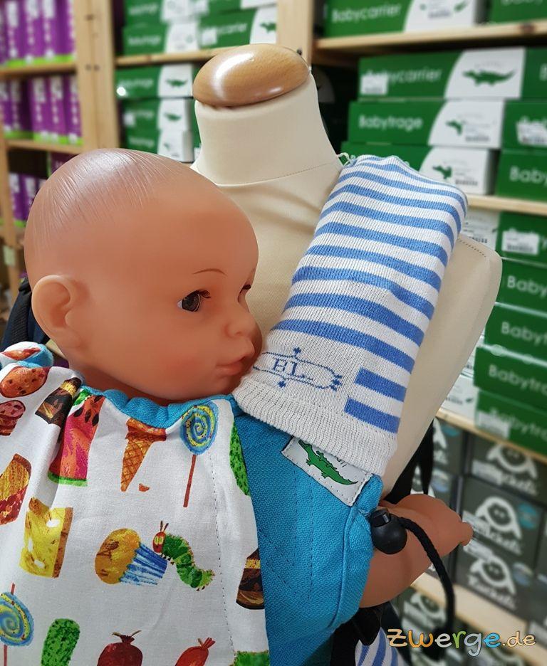 Babystulpen als Trägerschutz für Deine Babytrage