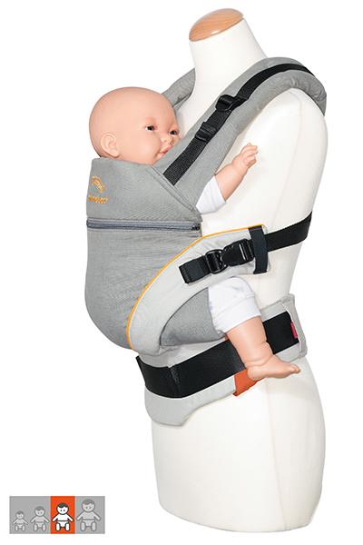 manduca XT - Einstellung für große Babys
