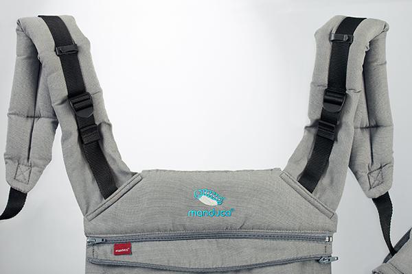 manduca XT - Kopfstütze eingepackt
