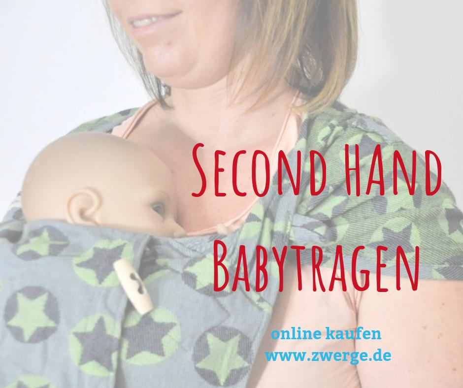Second Hand Babytragen